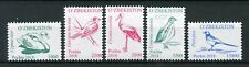 Uzbekistan 2018 MNH Birds Definitives Pt III 5v Set Storks Swans Magpies Stamps