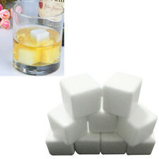 9PCS Ceramic Stone Ice Cubes Chillers for Whiskey Wine Beverage Drinks