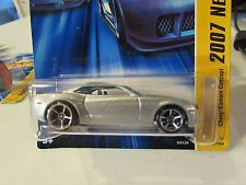 Hot Wheels Chevy Camaro Concept 2007 New Models Silver