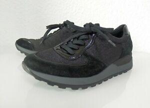 Waldläufer Orthotritt Sneaker Schnürschuhe schwarz Weite H  Gr. 37,5