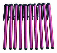 100x Pink Stylus Eingabestifte Touch Pen Stift Touch Tablet Handy Lang