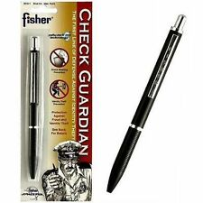 Fisher space Pen Check Guardian Pen With Cellu-Lock Ink SCG-1 NEW L@@k