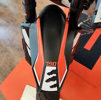 PROTEZIONE PARAFANGO ANTERIORE adesivi 3D per MOTO compatibili KTM 790 ADVENTURE