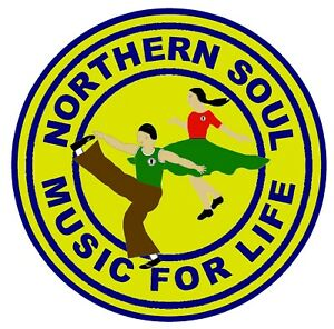 NORTHERN SOUL (MUSIC FOR LIFE) - CAR / WINDOW INSIDE STICKER + 1 FREE / GIFTS