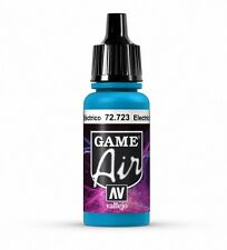 VALLEJO GAME AIR AIRBRUSH PAINT - ELECTRIC BLUE 17ML - 72.723