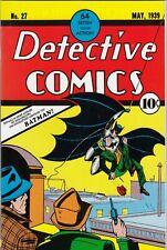 BATMAN # 37 - FLIP-COVER REPRINT DETECTIVE COMICS No. 27 - DINO VERLAG - Z. 1/1-