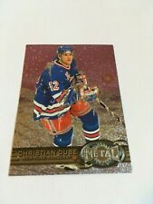 1996-97 Fleer Metal Universe Christian Dube New York Rangers Hockey Insert#176