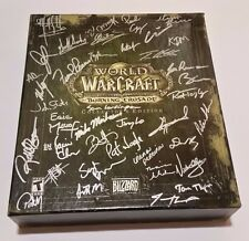 World of Warcraft Burning Crusade Collector's Edition Signed Dev Team CODE INCLD