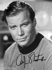 STAR TREK - William Shatner - print signed photo - foto con autografo stampato