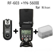 Yongnuo YN-560 III Bundle flash light With RF-603 II Single Transceiver (Nikon)