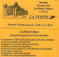 CARNET N° 2712-C1 NEUF * * LUXE - LA POSTE COLBERT DE MARSEILLE A 100 ANS