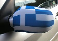 CAR WING MIRROR SOCKS FLAGS, COVERS, FLAG-UPS! - GREECE GREEK