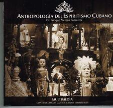 Antropologia del Espiritismo Cubano Dr.Enrique Aleman Gutierrez  2 CDS BRAND NEW
