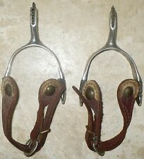 OLD WESTERN COWBOY NORTH AND JUDD ANCHOR SPURS