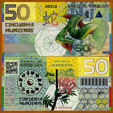 Kamberra, Kingdom, 50 Numismas, China Lunar Year 2013, UNC > Snake