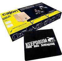 Schlagwerk CBA 1S Cajon Bausatz + keepdrum Pad Auflagesitz