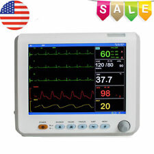 Icu Ccu 6 Parameter Vital Sign Patient Monitor Ecg Nibp Resp Temp Spo2 Pr Fdace