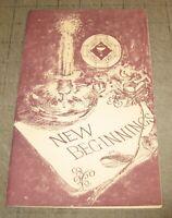 1983 University of Maryland SCHOOL OF NURSING Pinning Ceremony Program