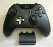 Official Microsoft Xbox One Black Wireless Controller - VGC - UK M4