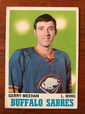 1970/71 Topps Hockey Card #125 Gerry Meehan Buffalo Sabres VG/EX