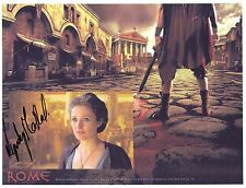 Hand Signed 8x10 photo LYNDSEY MARSHAL in ROME as CLEOPATRA + my COA