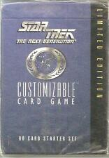Star Trek CCG Starter Deck  Factory Sealed  Limited Starter