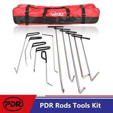 PDR Rods Tools Kit Car Body Dent Removal Puller Hail Door Ding Repair A C Set