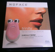 NUFACE Trinity Facial Toning Device PINK Wrinkle Reduction UK PLUG W/ US ADAPTER