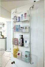 4 Etagen über der Tür Dusche Rack Organizer Hänge Aufbewahrung Regale Küche Chrom