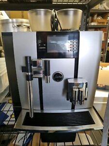 Jura giga x9 peofessional with fridge automactic latte, cappuccino and espresso
