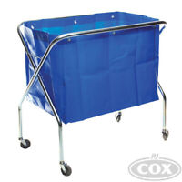 Scissor Waste Trolley for laundry and waste collection