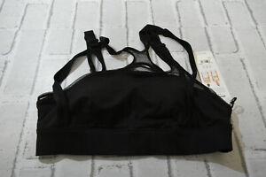 ALO Scope Sports Bra, Women's Size L, Black