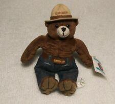 Vintage 1994/1998 Smokey The Bear Toy Teddy Plush Collectible 90's Kid's Toys