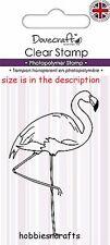 Dovecraft Petit Clair s'accrocher timbres-dcstp 069-Bird-Flamingo