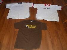 3 Napoleon Dynamite T-Shirts:Frickin' Idiot,Tots,Lips Hurt Size XL  NoRsv L@@K