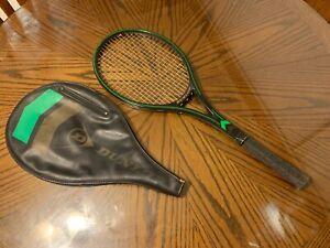 John McEnroe Autographed Game used Tennis Racquet W/ PSA COA 1990's Era Dunlop