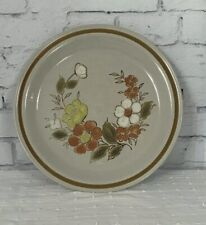 Mountain Wood Trellis Blossom Oven to Table Dinner Plate Made in Japan