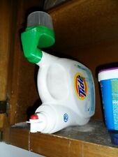 Tide laundry detergent soap saver lid top for spigot - less mess, save $