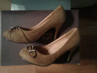 "DBDK Fashion Nordstrom Womens 7 Brown Pumps ""Lieon-3"" Shoes High Heel New No Box"