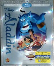 Disney Aladdin (Blu-ray+DVD+Digital HD, 2015, 2-Disc Set, Diamond Edition)