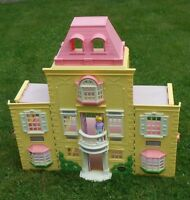 Fisher Price 2005 Vintage Loving Family Grand Mansion Twin Time Dollhouse H3370