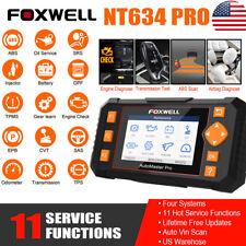 Automotive Obd2 Scanner Diagnostic Tool Abs Srs Tpms Dpf Regen Injector Coding