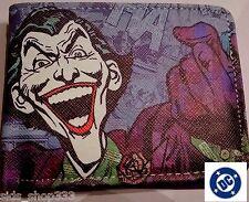 Dc comics harley davidson wallets for men ebay joker arkham knight bi fold wallet dark knight dc comics usseller harley quinn voltagebd Gallery