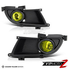 04-05 Mitsubishi Lancer JDM Yellow Fog Light LH+RH Bumper Lamp Wiring Assembly