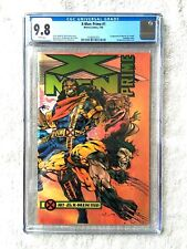 X-Men: #1 Prime CGC 9.8 white pages July 1995 Marvel wraparound 1st appearance