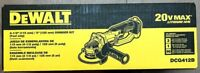 DEWALT DCG412B 20-Volt MAX Lithium-Ion Cordless 4-1/2 in. Grinder (Tool-Only)
