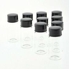Clear Liquid Sampling Sample Glass Bottles Vials Screwcap Capacity 10ml 03 Oz