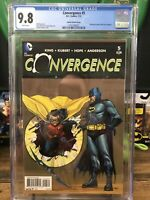 Convergence 5 Cgc 9.8 Detective comics 38 Homage 1:25 Opena Variant  8 On Census