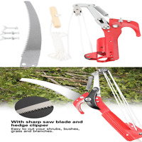 "13.6"" Garden Tools Tree Pruner Pole Saw Blade Branch Limb Pruning Trimmer Cutter"