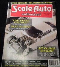 Scale Auto Enthusiast #92 1994 August Final GSLMCC 1953 Starliner Scale Brake La